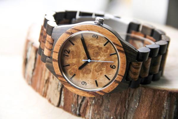 conseils achat montre - montre en bois