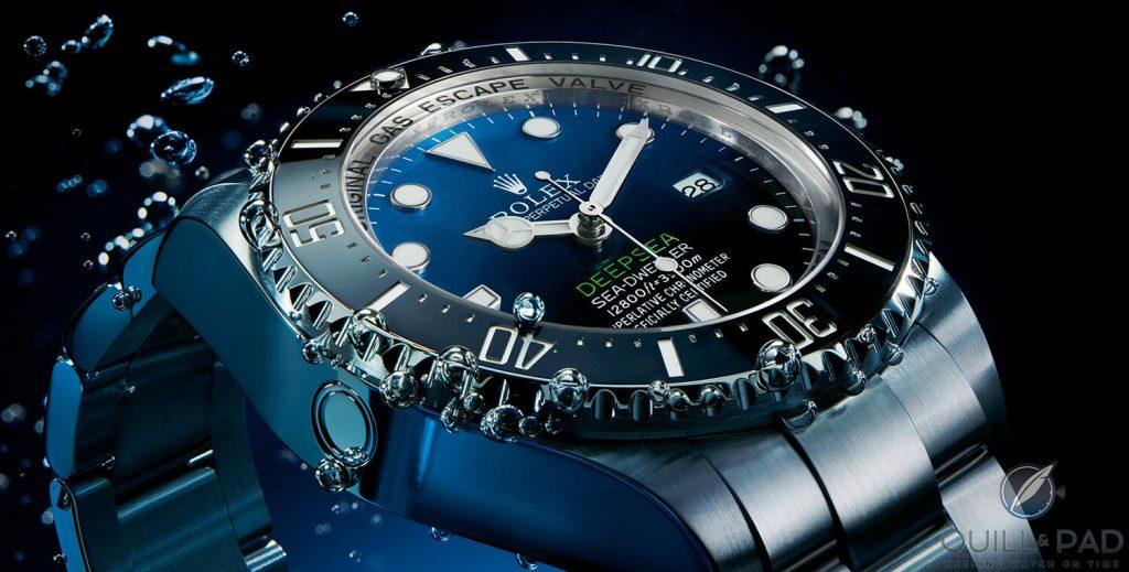 a quoi sert valve helium sur une montre de plongee
